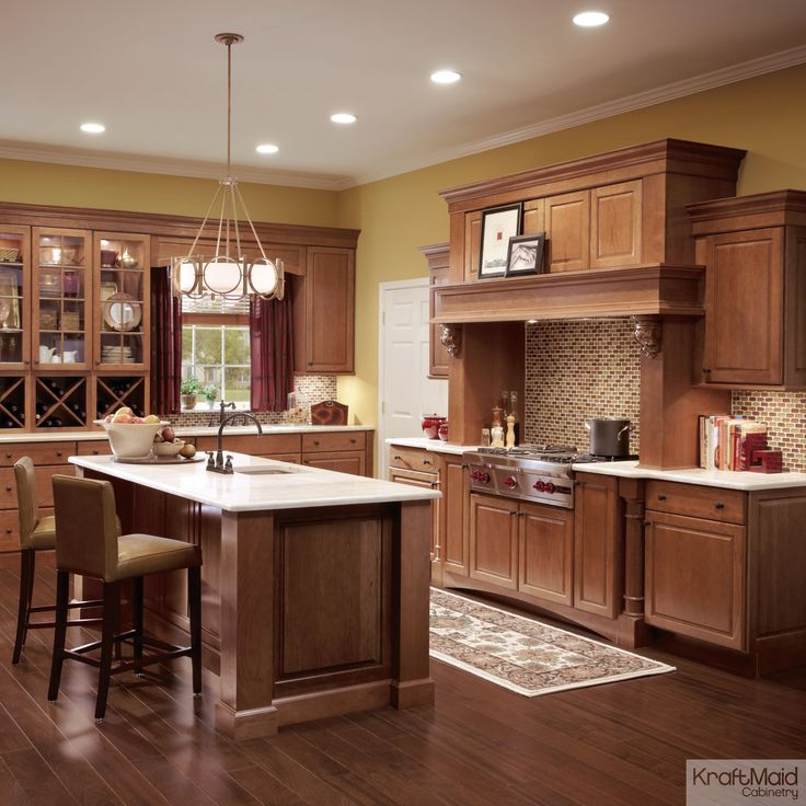 Kitchen Remodel Cherry Cabinets: 21 Best Kyla's Perfect Kitchen Images On Pinterest