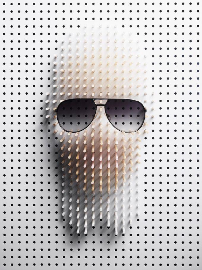Inspired Art_Pencils, pegboards, pins & pixels