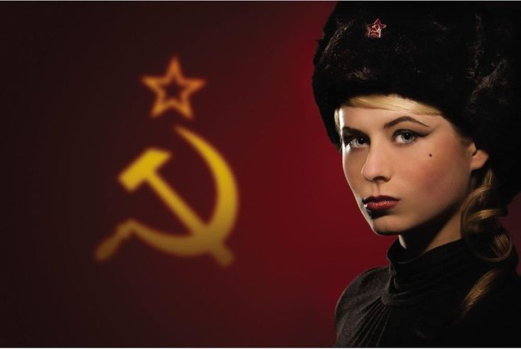 The Flag of the Soviet Union, the Girl Style
