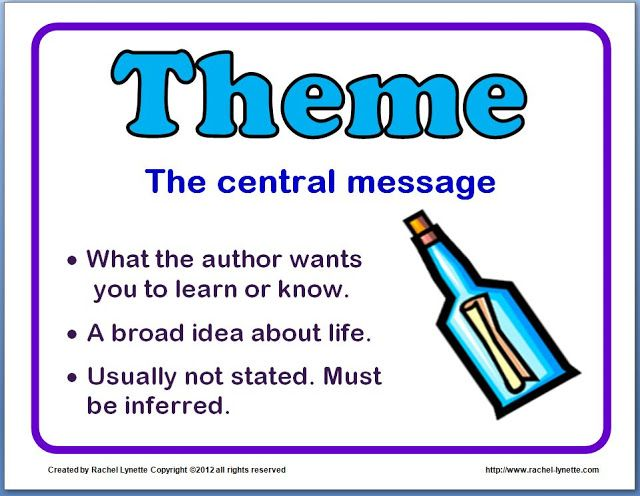 ideas for teaching theme (and a couple freebies | ela | pinterest