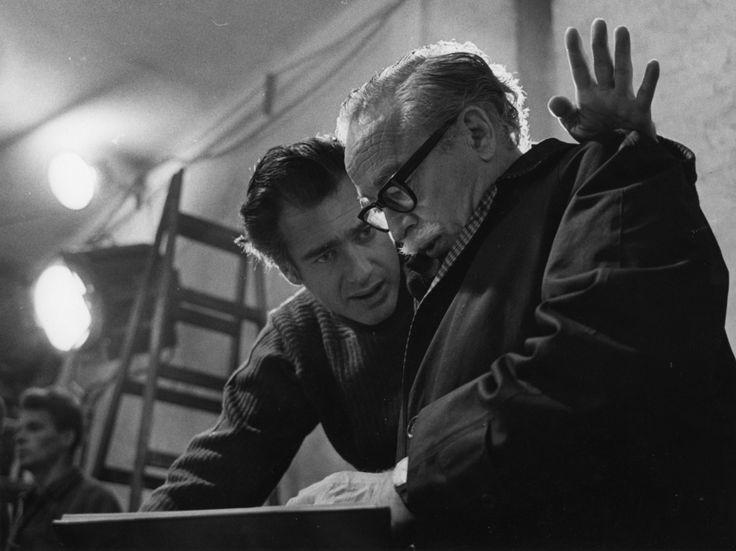 Dalton Trumbo with John Frankenheimer