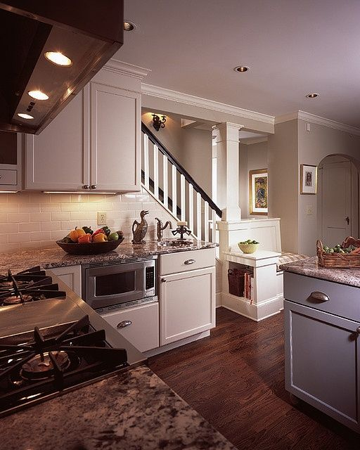 Kitchen Upstairs: 29 Best House & Home: BACK STAIRS Leading To Kitchen