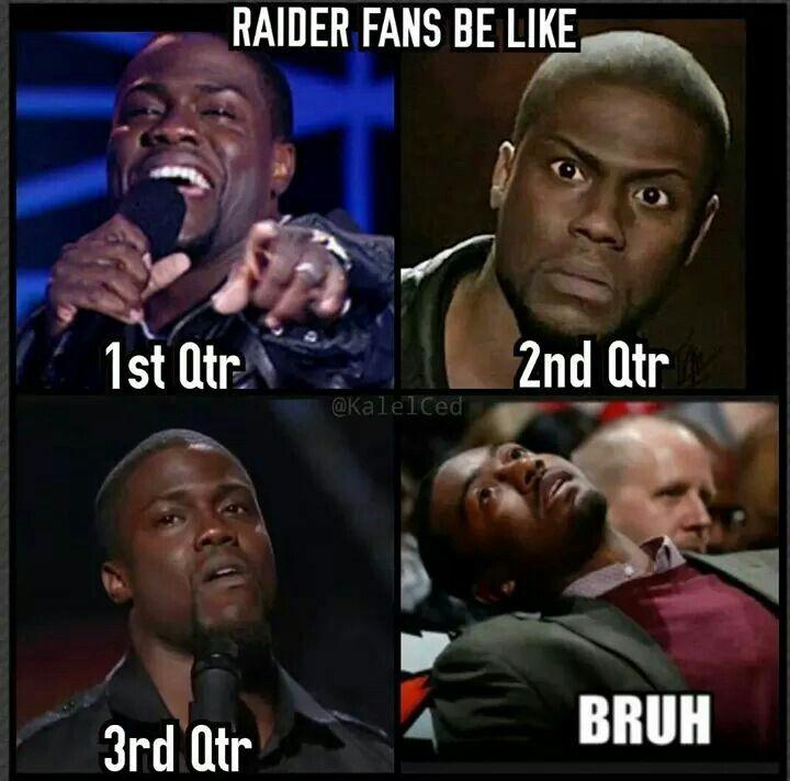 Bronco's vs Raiders game.