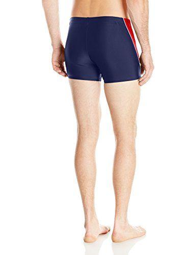 64f94e744e Speedo Men's PowerFLEX Eco Fitness Splice Square Leg Swimsuit ...