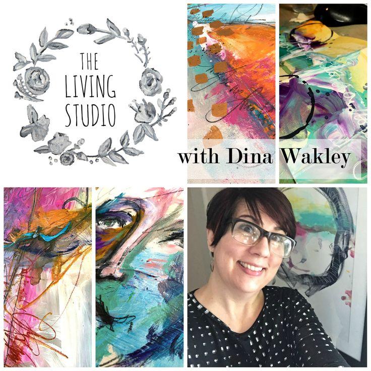 Handmade Art Journal {With Dina Wakley}