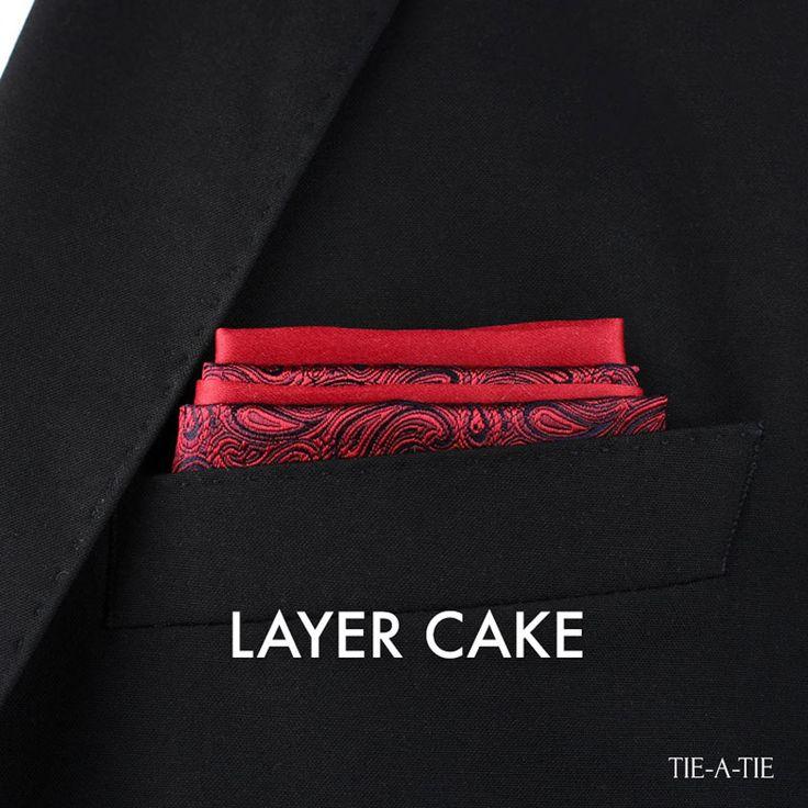 Layer Cake Pocket Square Fold                                                                                                                                                                                 More