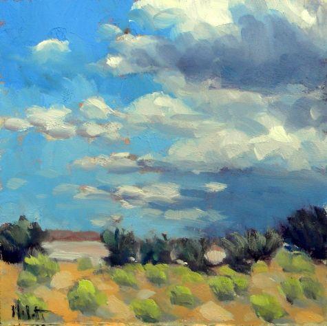 Southwest Landscape Arizona Contemporary Impressionism
