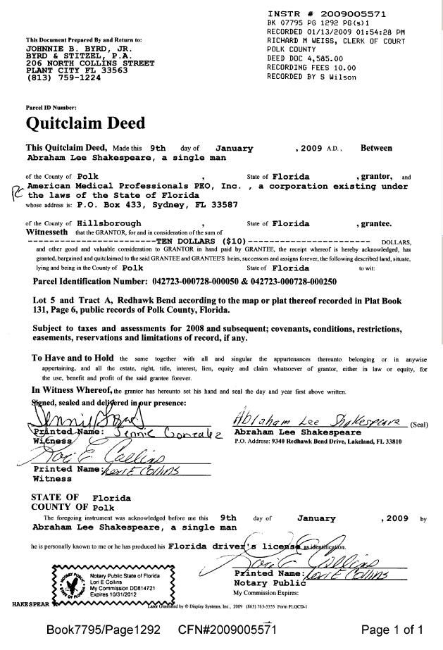 Quit Claim Deed Form Free Quit Claim Deed Template With Sample