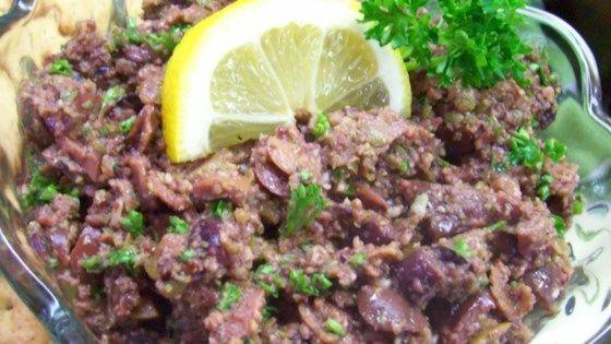 Kalamata Olive Tapenade - Allrecipes.com