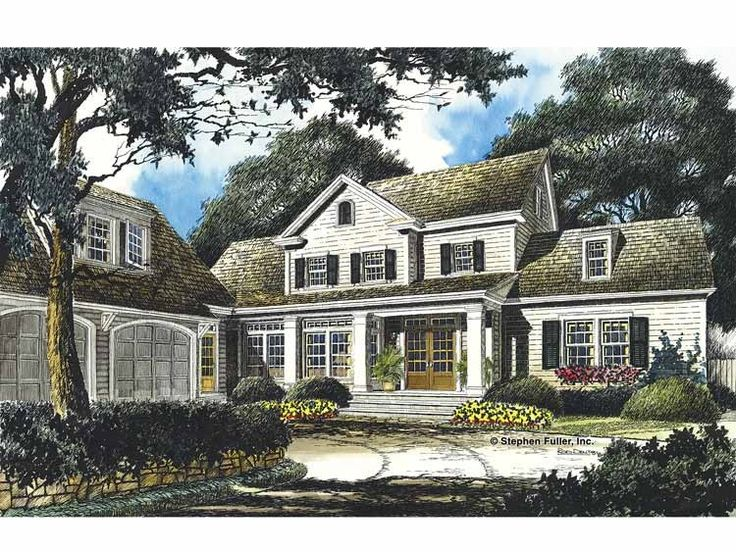 Eplans Country House Plan - Southern Charm - 3840 Square Feet and 4 Bedrooms(s) from Eplans - House Plan Code HWEPL13505