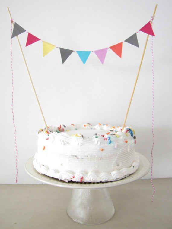Stick on some celebratory bunting.