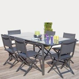 Les 25 meilleures id es concernant table avec rallonge sur - Table grise avec rallonge ...