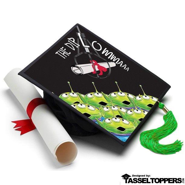The Diploma Grad Cap Tassel Topper