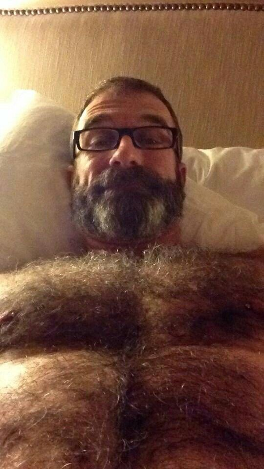 Bearded mature gay nude