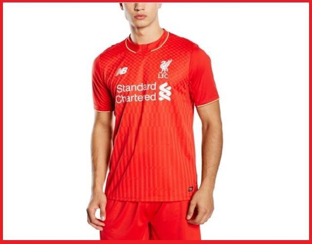 #NewBalance #Liverpool F.C #Home #Mens #Football #Shirt #2015 16 #Adult #Medium #Large #XL UK FREE Delivery