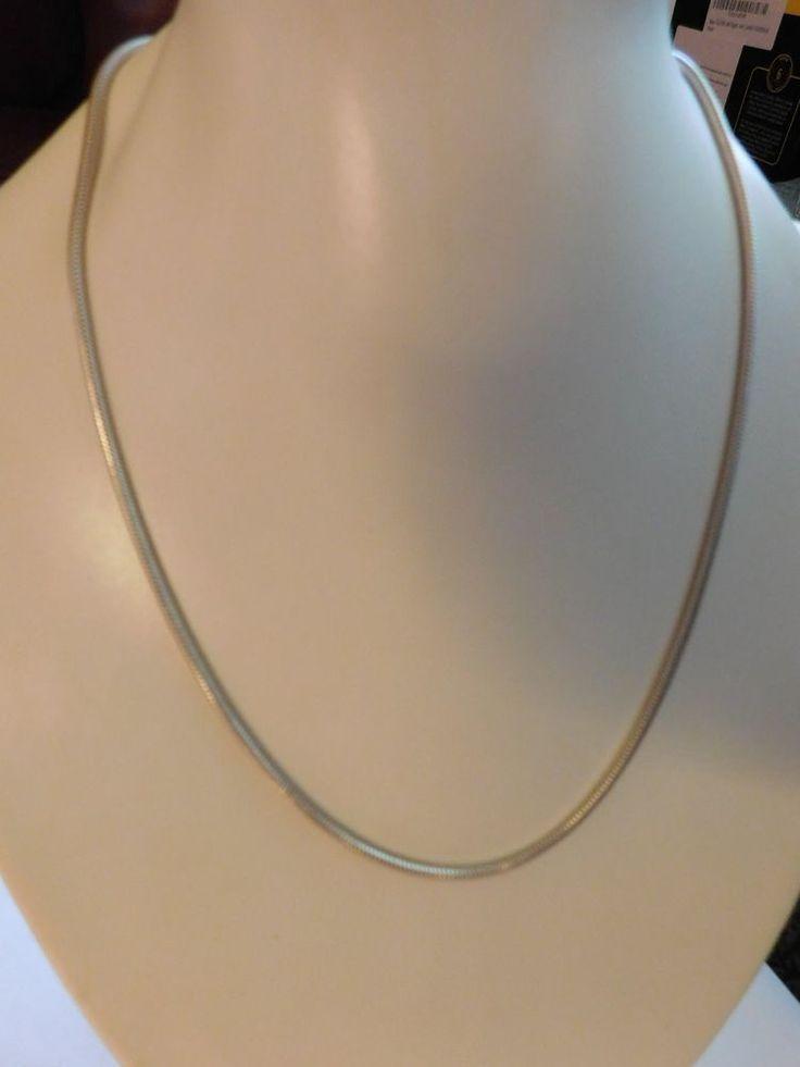 Fine sterling silver .999 necklace 8 gms | eBay