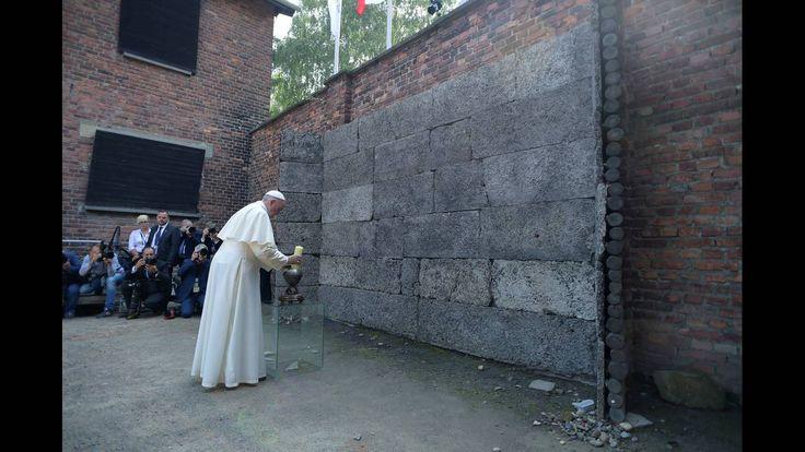 Συγκλονιστικές εικόνες από την επίσκεψη του Πάπα στο Άουσβιτς - CNN.gr