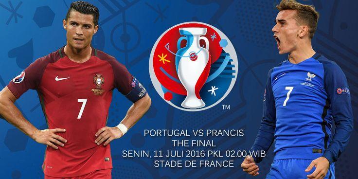 Prediksi Portugal vs Prancis 11 Juli 2016  #PrediksiSpbo #PrediksiBola #PrediksiSkor #PialaEropa2016 #Euro2016 #Portugal #Prancis  Prediksi Portugal vs Prancis - Portugal dan Prancis akan saling berebut titel Juara Piala Eropa di Stade de France pada hari Senin (11/7) dini hari WIB.