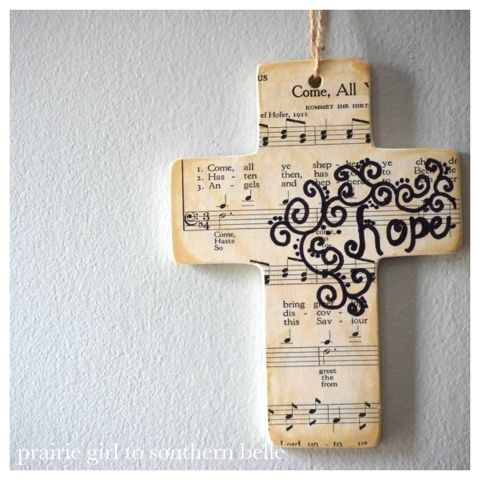 Easy Easter Cross Craft Project