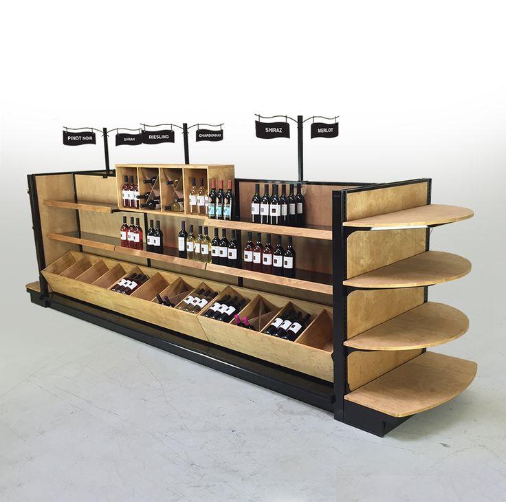 Commercial Wine Racks | Liquor Shelves | Beer Displays for Stores