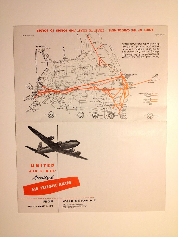 Vintage United Airlines Timetable Airplane Schedule 1940's by RareBeautyEphemera on Etsy https://www.etsy.com/listing/108063545/vintage-united-airlines-timetable