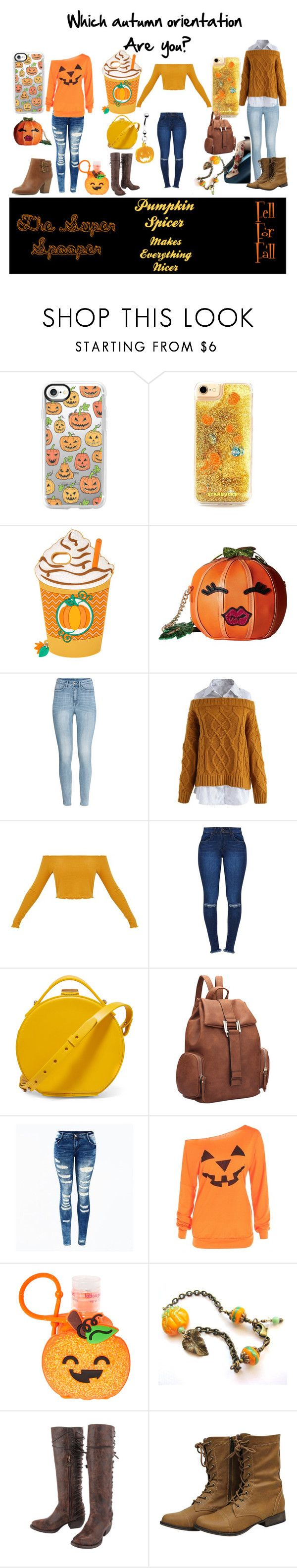 """""""What's Your Autumn Orientation"""" by fogg123 ❤ liked on Polyvore featuring Casetify, Betsey Johnson, H&M, Chicwish, Nico Giani, Dasein, Junk Gypsy and Charlotte Russe"""