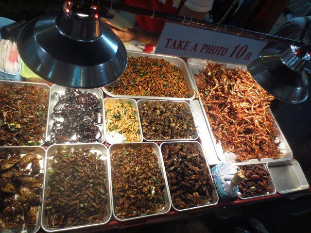 Not nice food, Khao San Road, Bangkok.