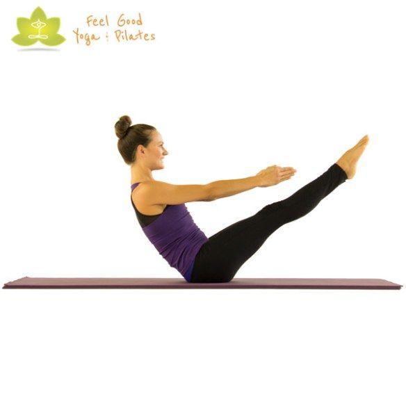 17 Best Ideas About Pilates Mat Exercises On Pinterest