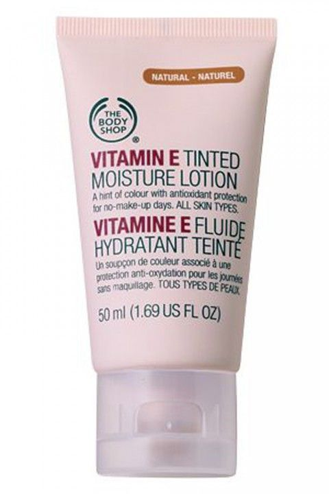 The Body Shop Vitamin E Tinted Moisturiser Lotion, £6 - Best Tinted Moisturiser: 14 Formulas For A Natural (But Flawless) Complexion