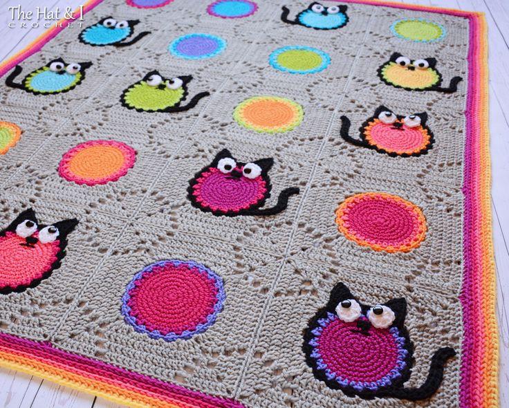 462 besten Häkeln Decken & Kissen / crochet afghan & pillows Bilder ...