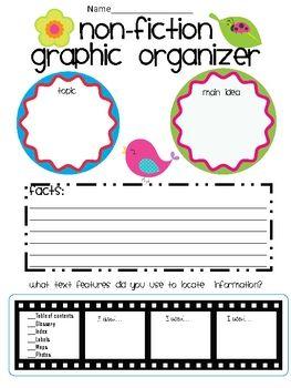 Non-fiction graphic organizer!