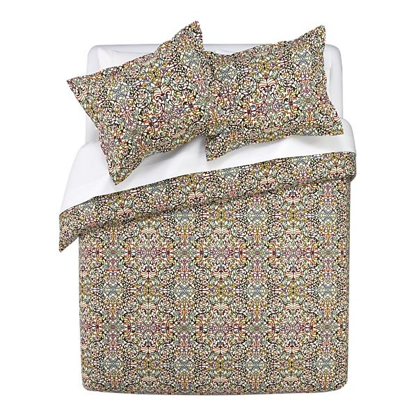 Lucia duvet covers and pillow shams bed linens crate for Crate barrel comforter