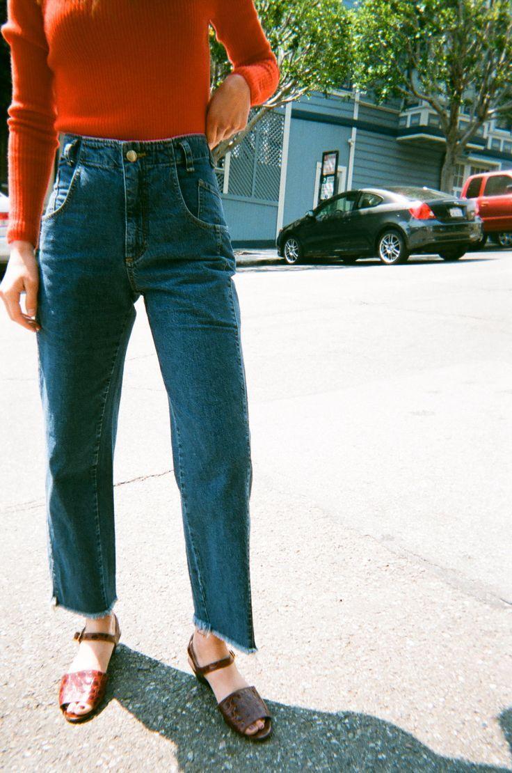 kick flair jeans