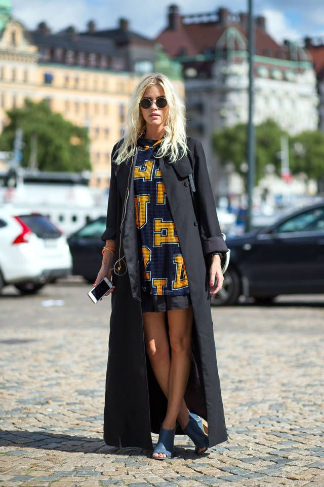 new street style photos straight from stockholm fashion week see all the looks here