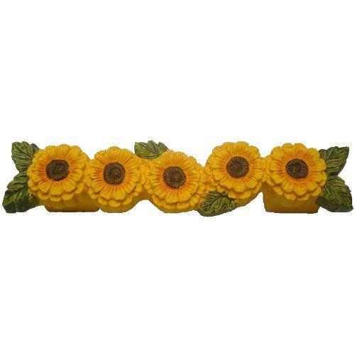 Sunflower Themed Kitchen Sunflower Decorations For Kitchen Kitchen Pinterest Sunflowers