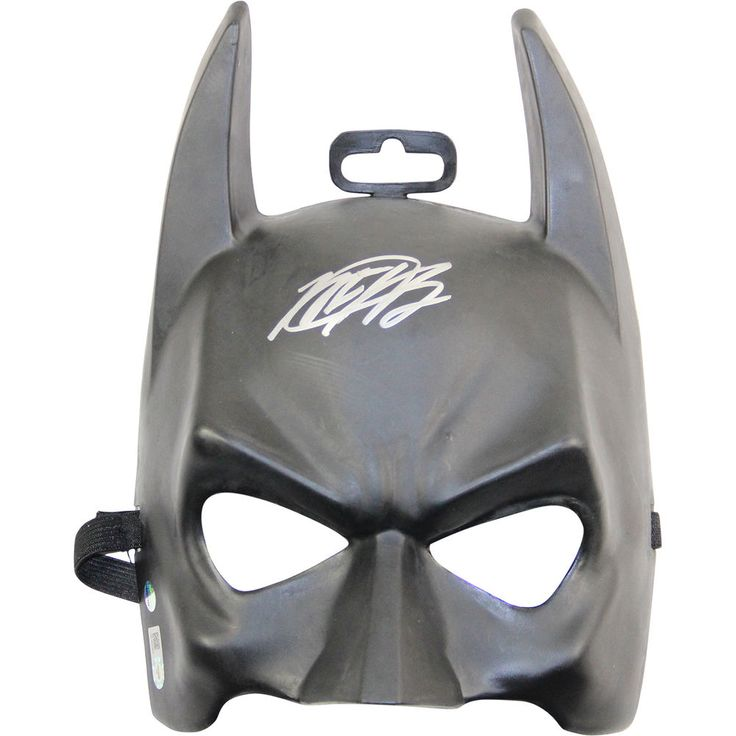 Matt Harvey Autographed Batman Mask (MLB Authenticated) in Sports Mem, Cards & Fan Shop, Autographs-Original, Baseball-MLB   eBay