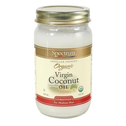 Spectrum Naturals Organic Unrefined Coconut Oil - Case Of 12 - 14 Fl Oz.