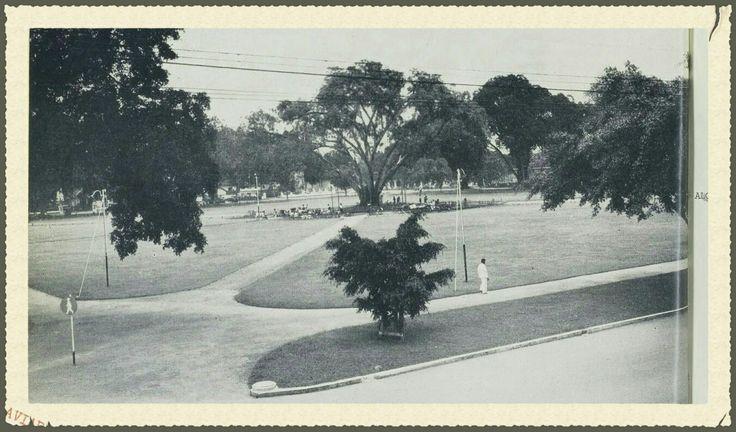 Aloon-Aloon Park Malang before 1939.