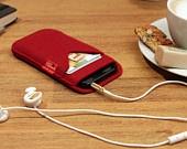 iPhone 5 wallet case iphone 5 case iphone 5wallet iphone 5 cover sleeve Shetland IWCS5-W. €16.72, via Etsy.