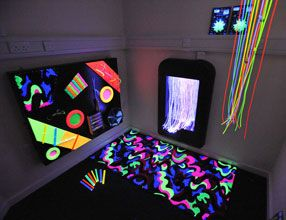 Pennyman Sensory Room  Playroom walk in closet?
