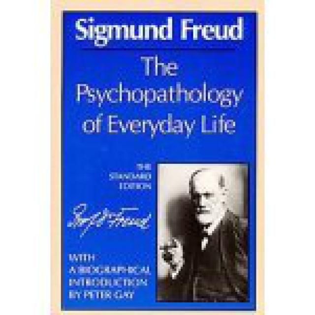 What Were Freud's Most Important Books?: The Psychopathology of Everyday Life (1901)