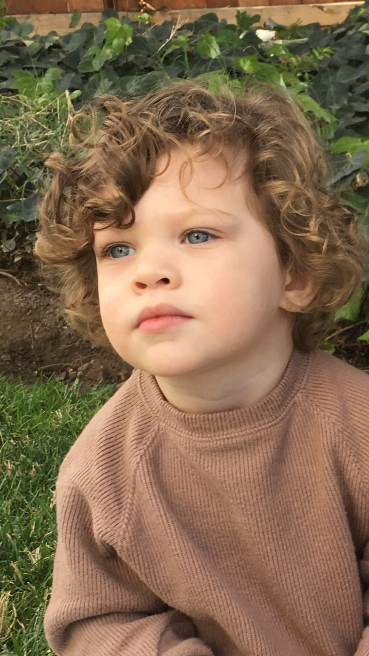 36++ Hairstyles for baby boy with long hair trends