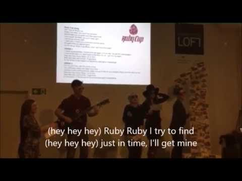 """Nathan and the Rubies - The Ruby Cup Song on the """"Build me up buttercup"""" song :)"""