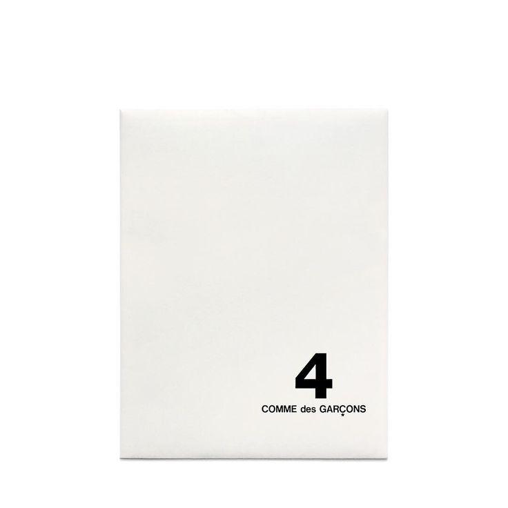 "COMME des GARÇONS 2016 DM No.4. Designed using materials from WERK Magazine No.8 ""the Hidden Issue"" by REI KAWAKUBO"