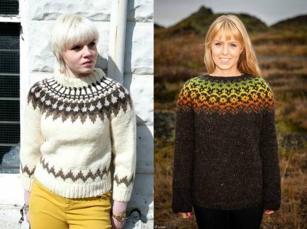Исландский свитер Лопапейса - уникальное творение народных мастеров