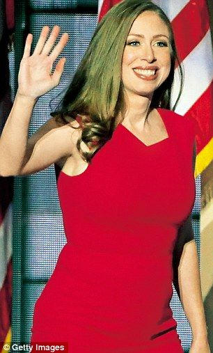 Chelsea Clinton, daughter of US presidential candidate Hillary