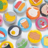 Pinback Buttons by queeniescards.com