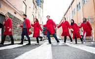 Red Lab Coat Day 2016. Petratos group raising awareness of Multiple Sclerosis research. http://ccsmonash.blogspot.com.au/2016/04/photo-of-week-red-lab-coat-day-2016.html