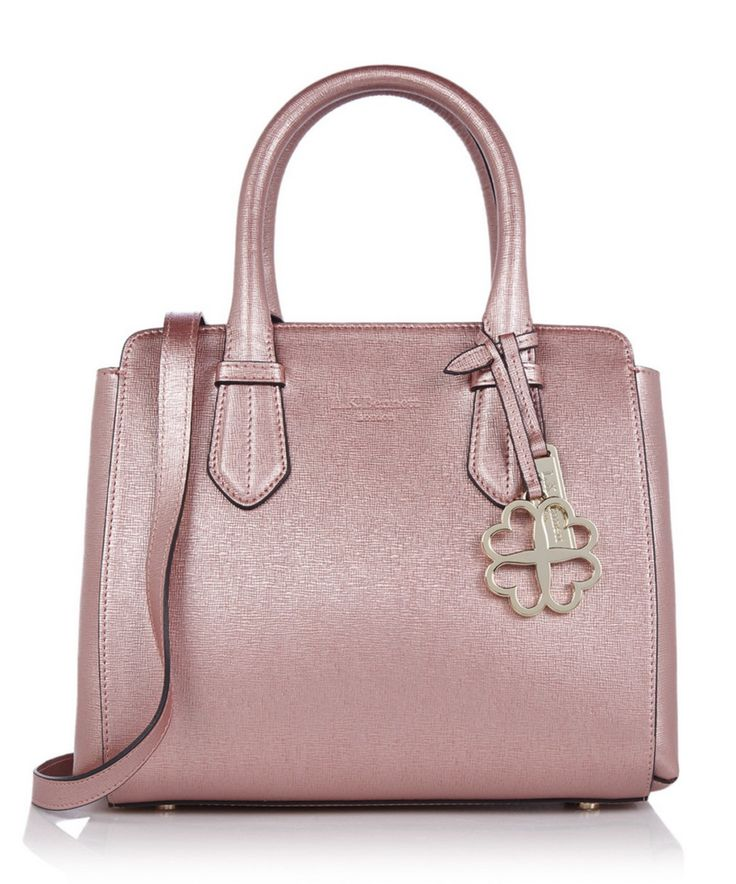 To celebrate Valentine's Day tomorrow I have collected my favorite romantic picks for you: 1. L.K. Bennett CASSANDRA Metallic Pink Leather Tote