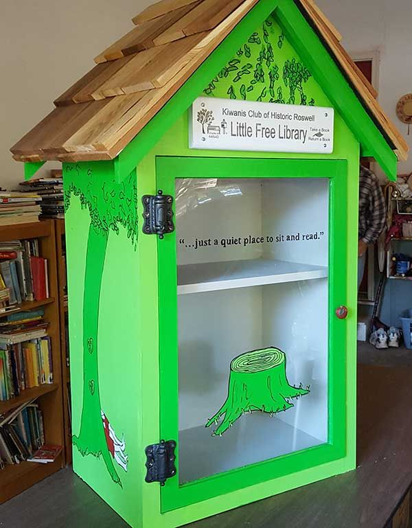 The Giving Tree Little Free Library #44540 Roswell, GA